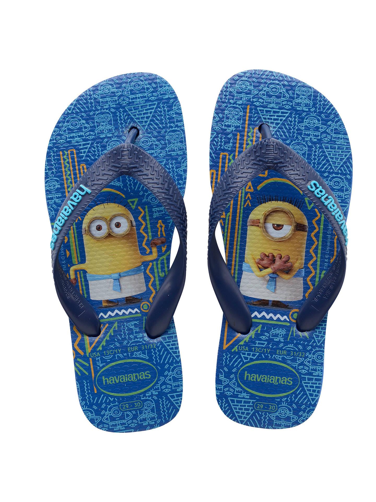 1328512e54e BuyHavaianas Children s Minions Flip Flops