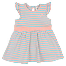 Buy No Added Sugar Baby Stripe Jersey Dress, Blue/Multi Online at johnlewis.com