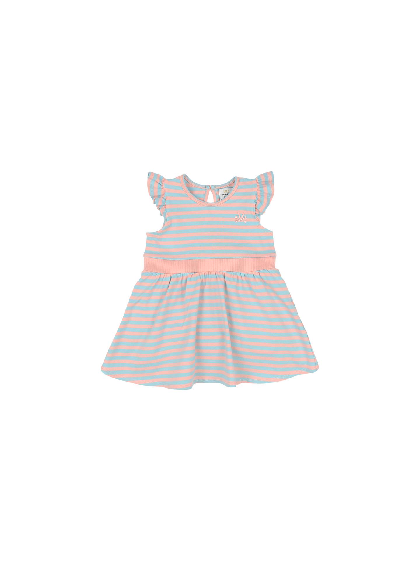 d49599069901d No Added Sugar Baby Stripe Jersey Dress, Blue/Multi at John Lewis ...