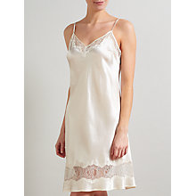 Buy Somerset by Alice Temperley Gatsby Bridal Chemise, Ivory Online at johnlewis.com
