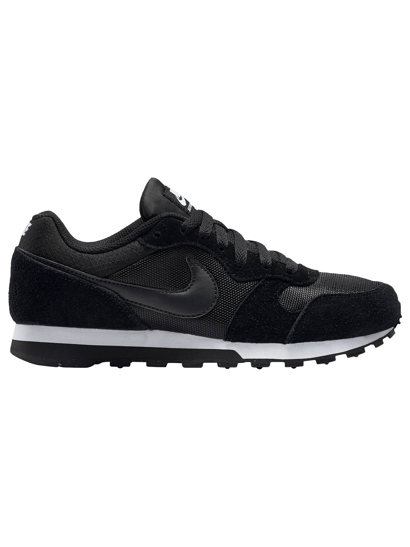 reputable site 8698c 79487 Buy Nike MD Runner 2 Women s Trainers, Black White, 3 Online at johnlewis  ...