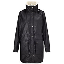 Buy Four Seasons Padded Faux Fur Trim Parka Online at johnlewis.com