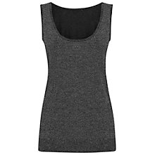 Buy Damsel in a dress Kasha Knitted Vest, Black Online at johnlewis.com