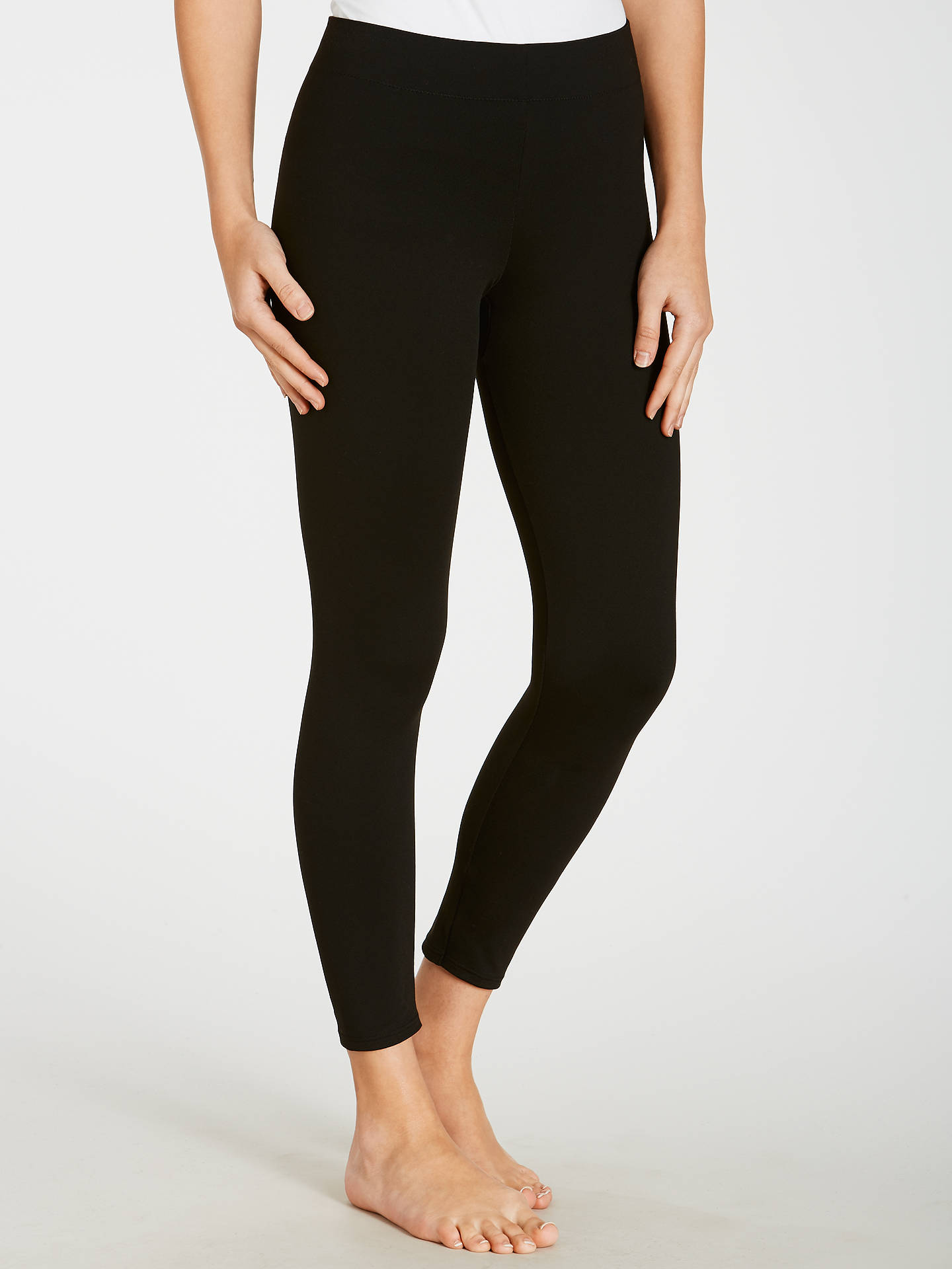 Buy Maidenform Firm Control Leggings, Black, S Online at johnlewis.com