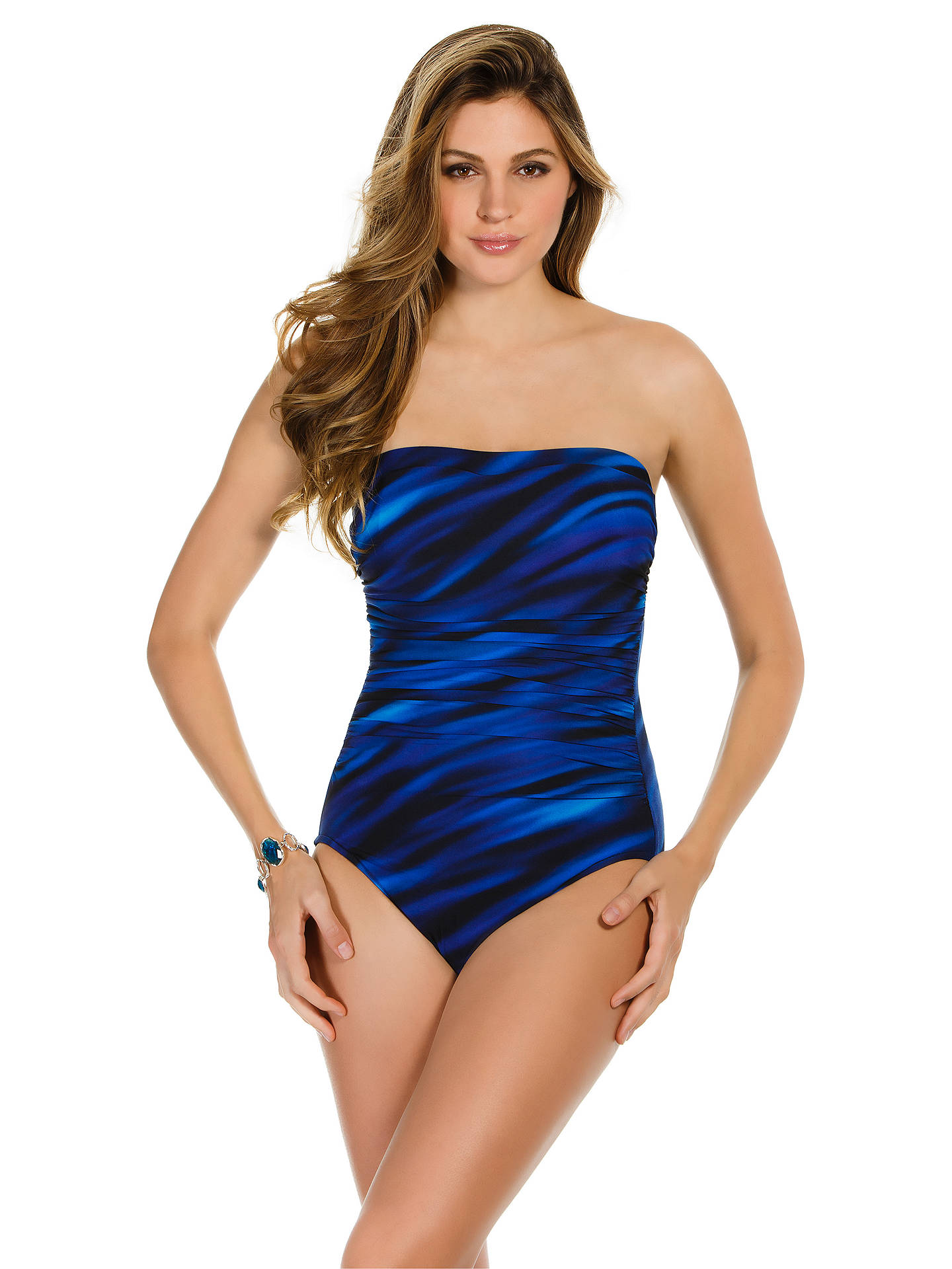 b6e3147bbf BuyMiraclesuit Avanti Wavy Bandeau Control Swimsuit