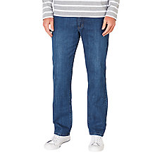 Buy John Lewis Stretch Straight Denim Jeans Online at johnlewis.com