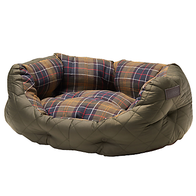 Image of Barbour Quilted Dog Bed