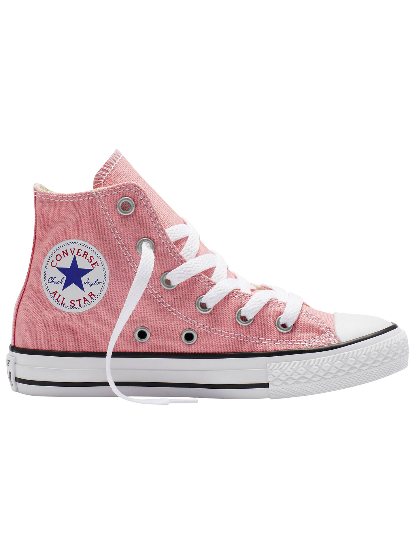 fb8d984d7c Buy Converse Children's Chuck Taylor All Star Classic High Top Shoes, Light  Pink, 10
