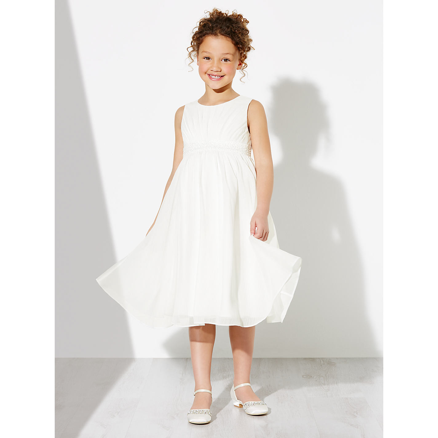 Buy john lewis girls ava beaded chiffon bridesmaid dress ivory buy john lewis girls ava beaded chiffon bridesmaid dress ivory online at johnlewis ombrellifo Choice Image