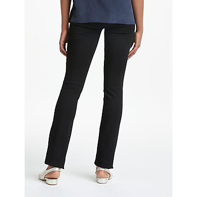 Paige Hoxton Straight Leg Trousers, Black Shadow