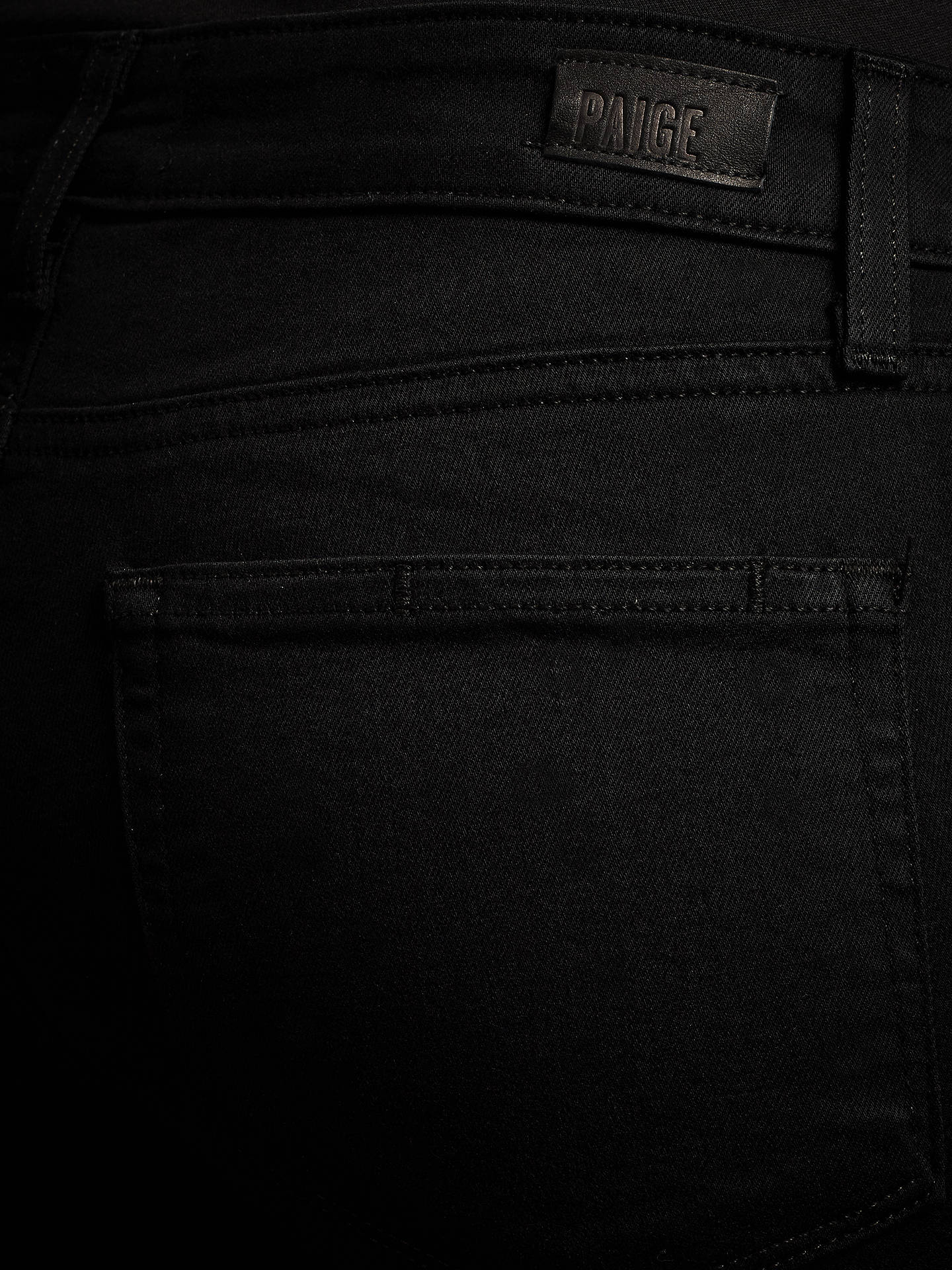 BuyPaige Skyline Bootcut Jeans, Black Shadow, 26 Online at johnlewis.com