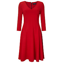 Buy Phase Eight Sienna Skater Dress, Red Online at johnlewis.com