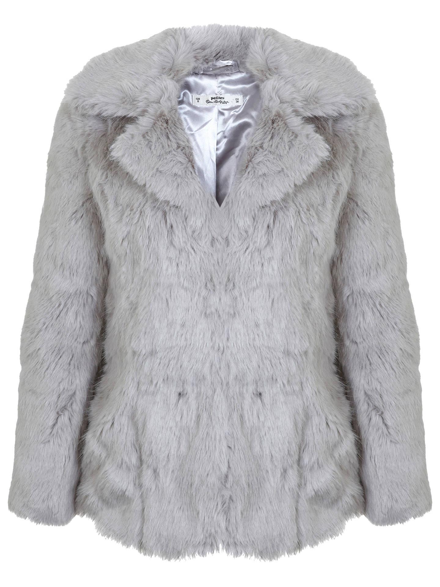1dba3be192068 Buy Miss Selfridge Petite Faux Fur Coat