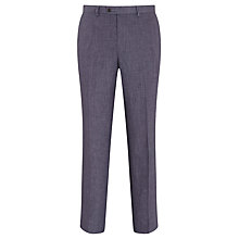 Buy John Lewis Linen Regular Fit Suit Trousers, Slate Online at johnlewis.com