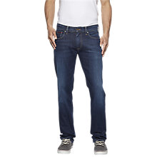 Buy Tommy Jeans Ryan Straight Jeans, Dark Comfort Online at johnlewis.com