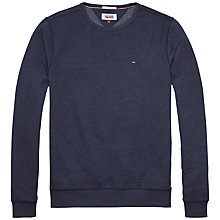 Buy Tommy Jeans Original Crew Neck Jersey Online at johnlewis.com