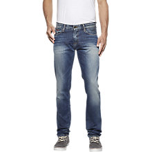 Buy Tommy Jeans Slim Jeans, Penrose Blue Online at johnlewis.com
