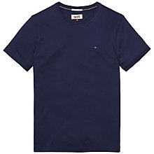 Buy Tommy Jeans Original Crew Neck T-shirt Online at johnlewis.com