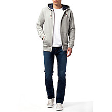 Buy Tommy Jeans Basic Zip Through Hoodie Online at johnlewis.com