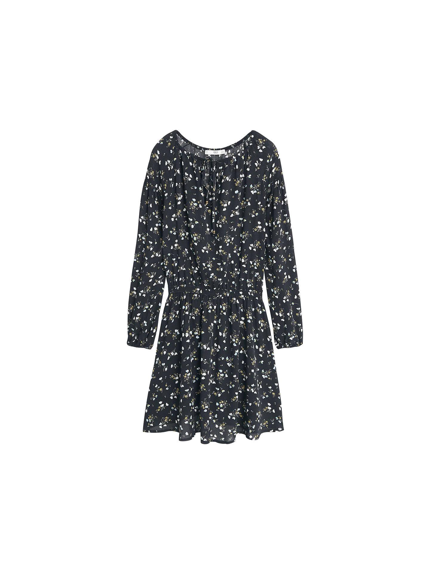 BuyMango Floral Print Flowy Dress 06922b289