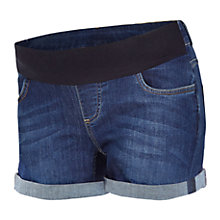 Buy Séraphine Sicily Maternity Denim Shorts, Blue Online at johnlewis.com
