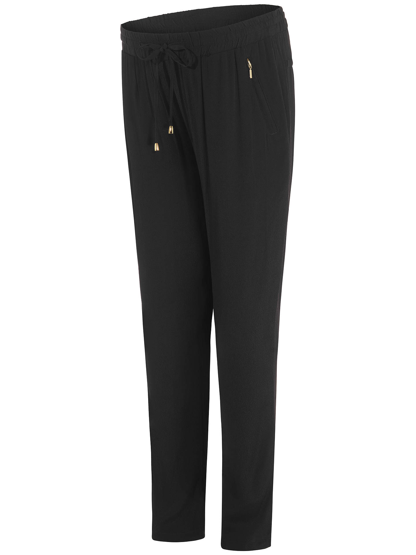 BuySéraphine Blaine Maternity Trousers, Black, 8 Online at johnlewis.com