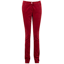 Buy Pure Collection Sandringham Jeans, Redcurrant Online at johnlewis.com