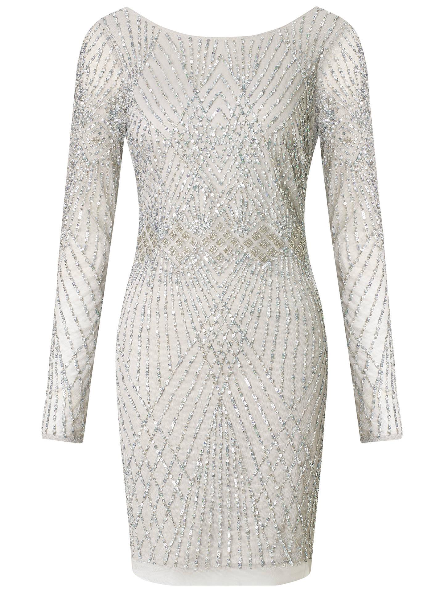 a955c09b65a Buy Aidan Mattox Long Sleeve Beaded Cocktail Dress
