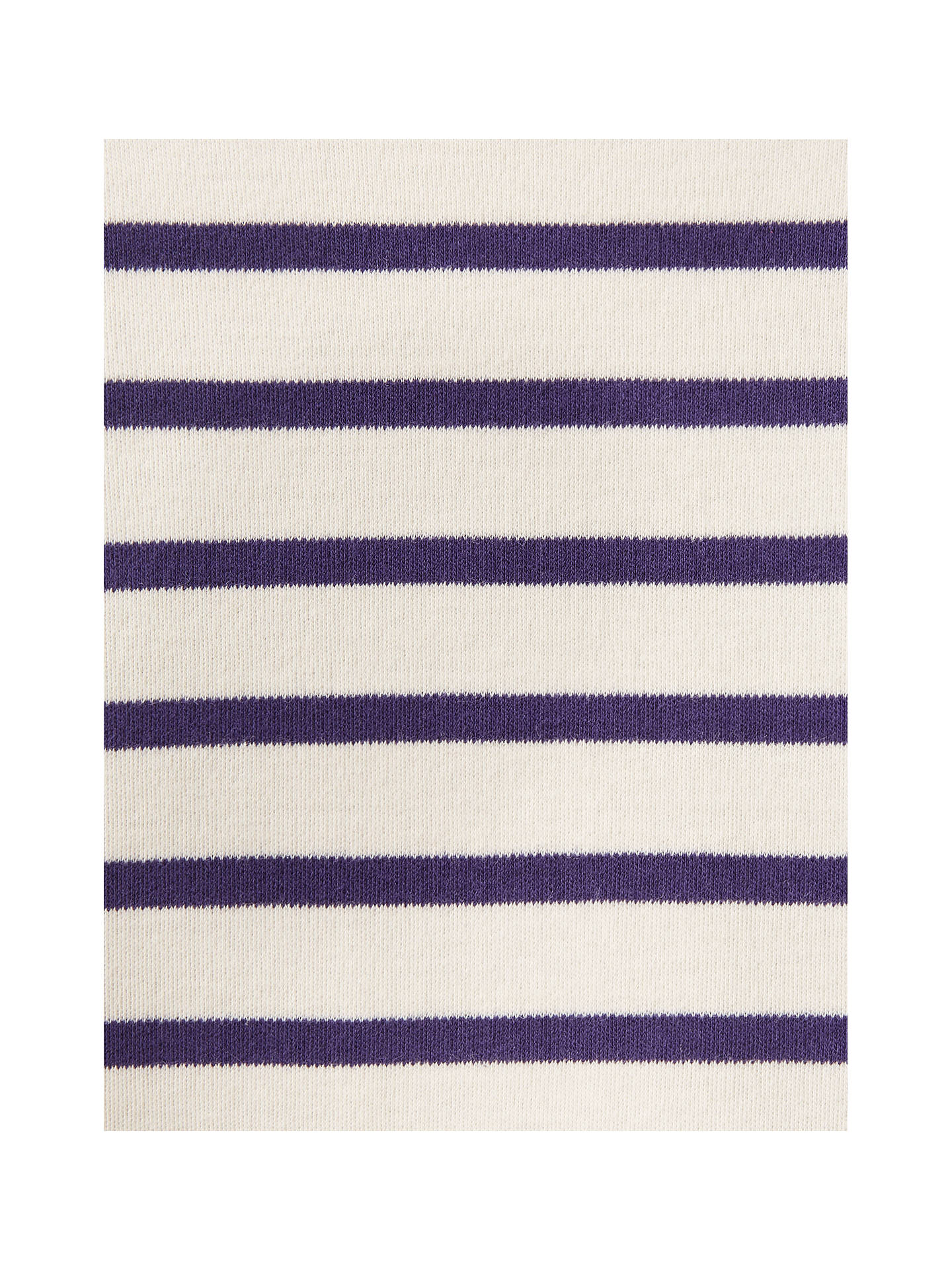 BuyLittle Joule Girls' Stripe Jersey Top, Navy, 3-4 years Online at johnlewis.com