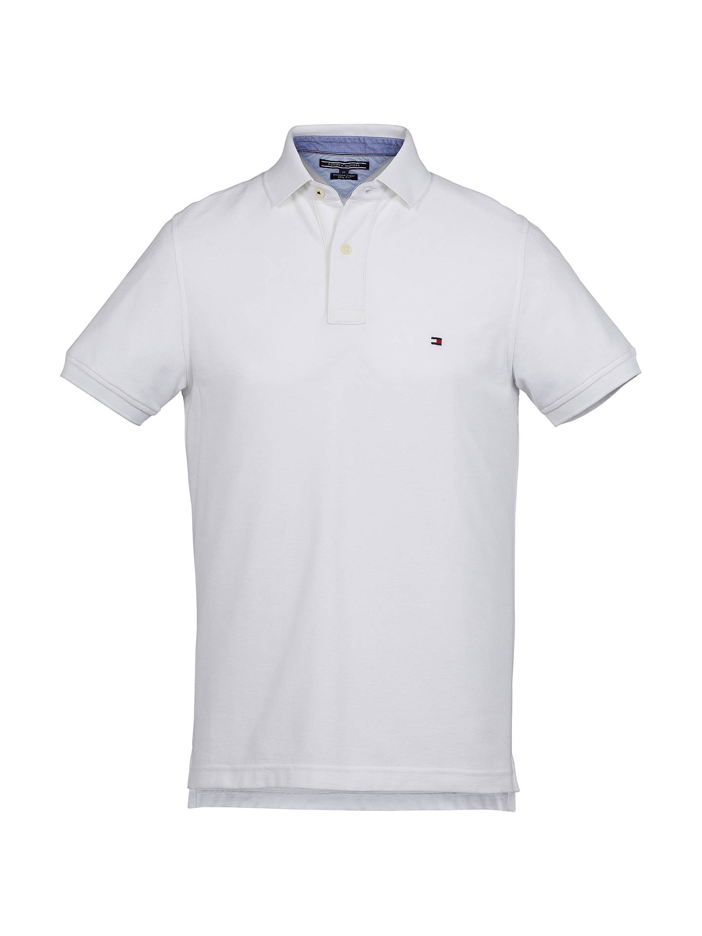 Tommy Hilfiger Slim Polo Shirt at John Lewis & Partners