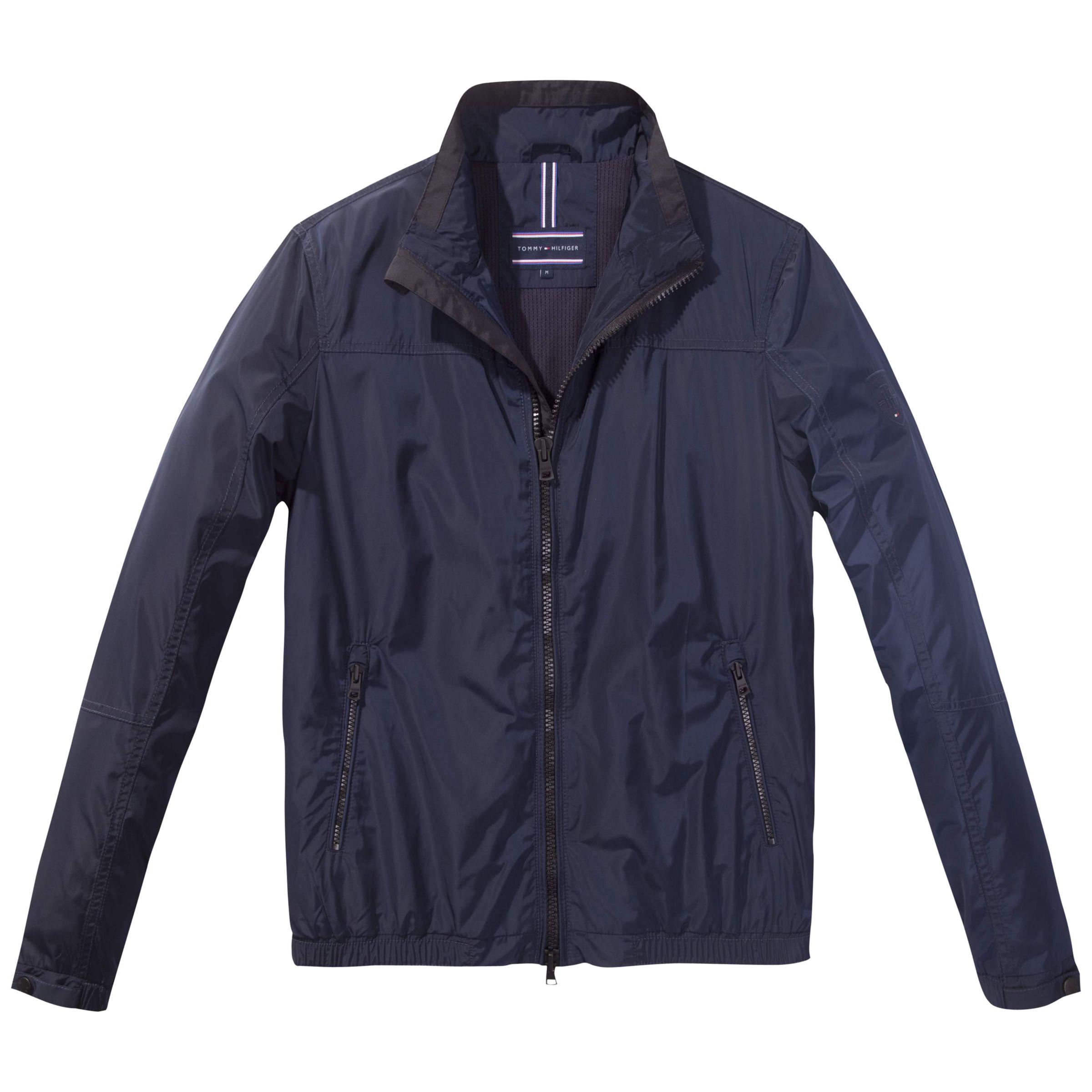 41693694d Tommy Hilfiger Bob Bomber Jacket | Navy Blazer at John Lewis & Partners
