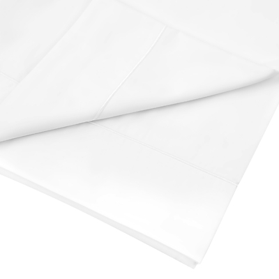John Lewis Crisp & Fresh Egyptian Cotton 800 Thread Count Flat Sheet, White
