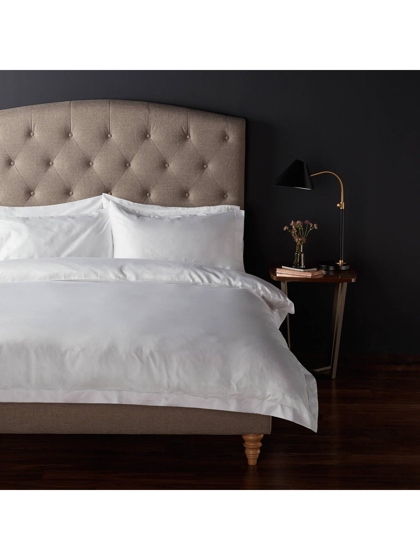 John Lewis Partners Soft Silky Egyptian Cotton 800 Thread Count Standard Pillowcase