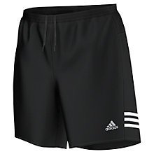 "Buy Adidas Response 7"" Shorts, Black Online at johnlewis.com"