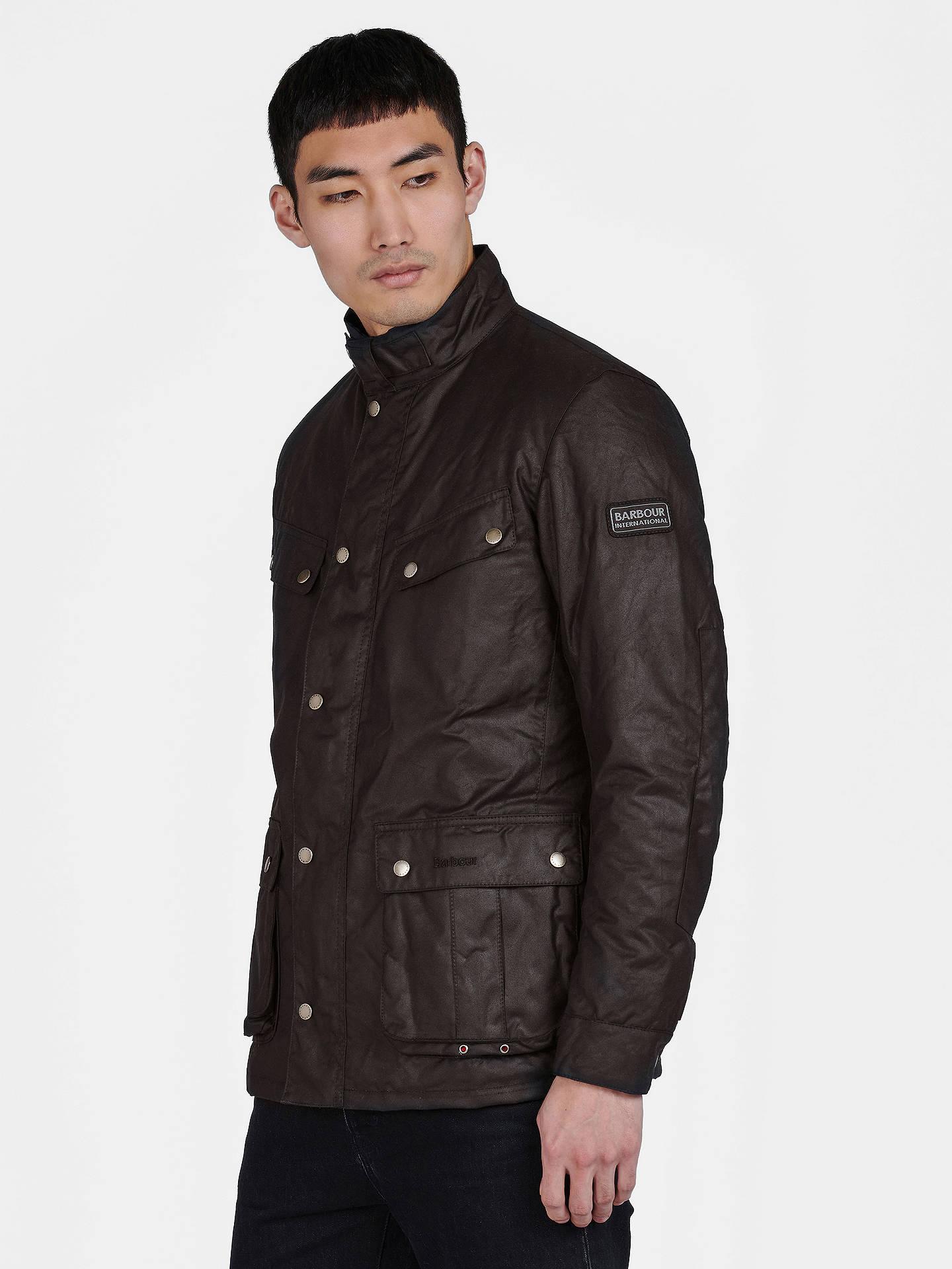 6d4bcc456ed9 Barbour International Duke Wax Jacket at John Lewis   Partners