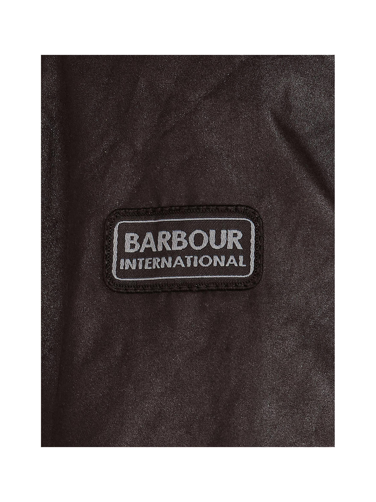BuyBarbour International Duke Wax Jacket, Rustic, S Online at johnlewis.com