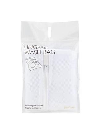John Lewis & Partners Mesh Laundry Bag, White