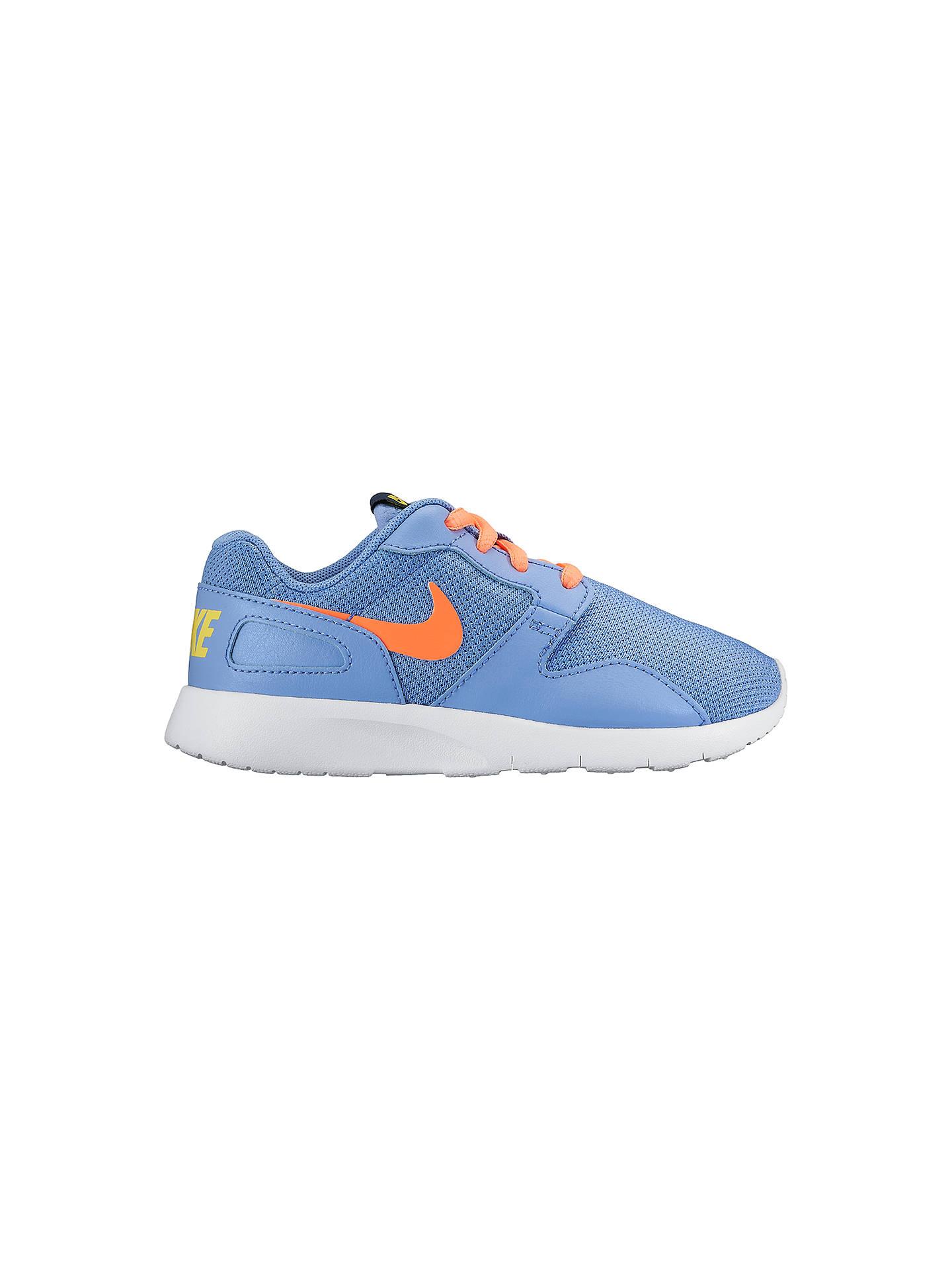 sale retailer 6f4fe fa5d3 ... order buynike kaishi sports trainers blue orange 5 online at johnlewis  83bb1 5b914