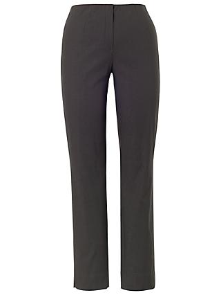 Chesca Fleece Lined Trousers, Charcoal