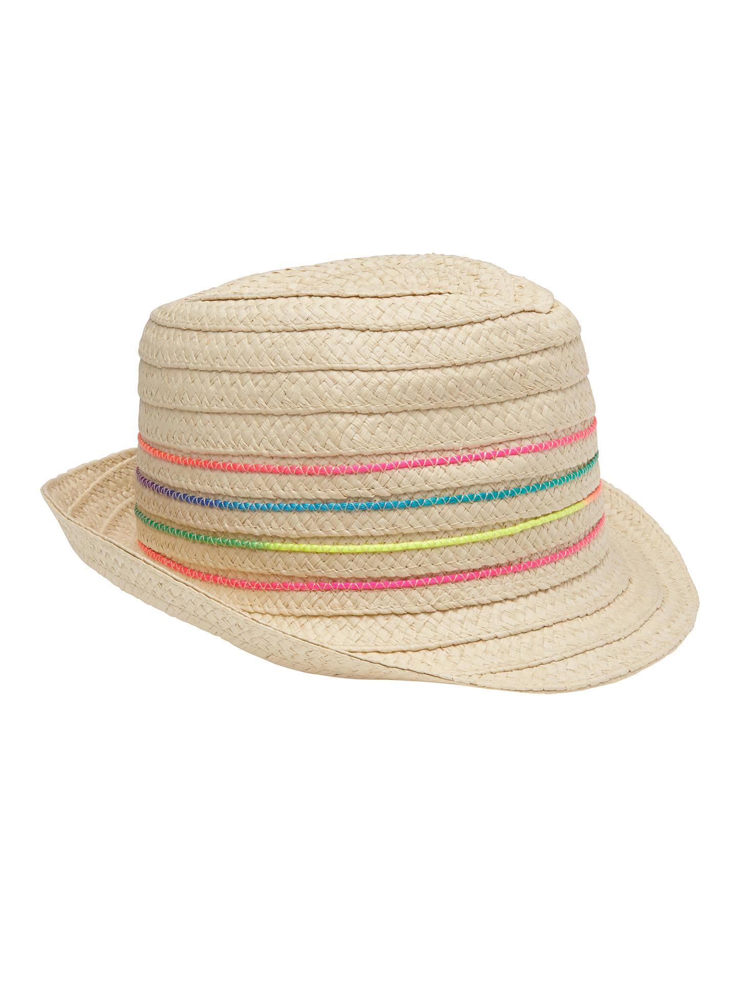 acabb27f1c BuyJohn Lewis Children s Neon Trilby Hat