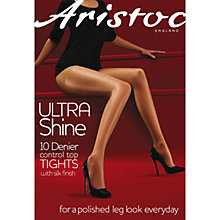 Buy Aristoc 10 Denier Control Top Bodyshaper Sheer Tights Online at johnlewis.com