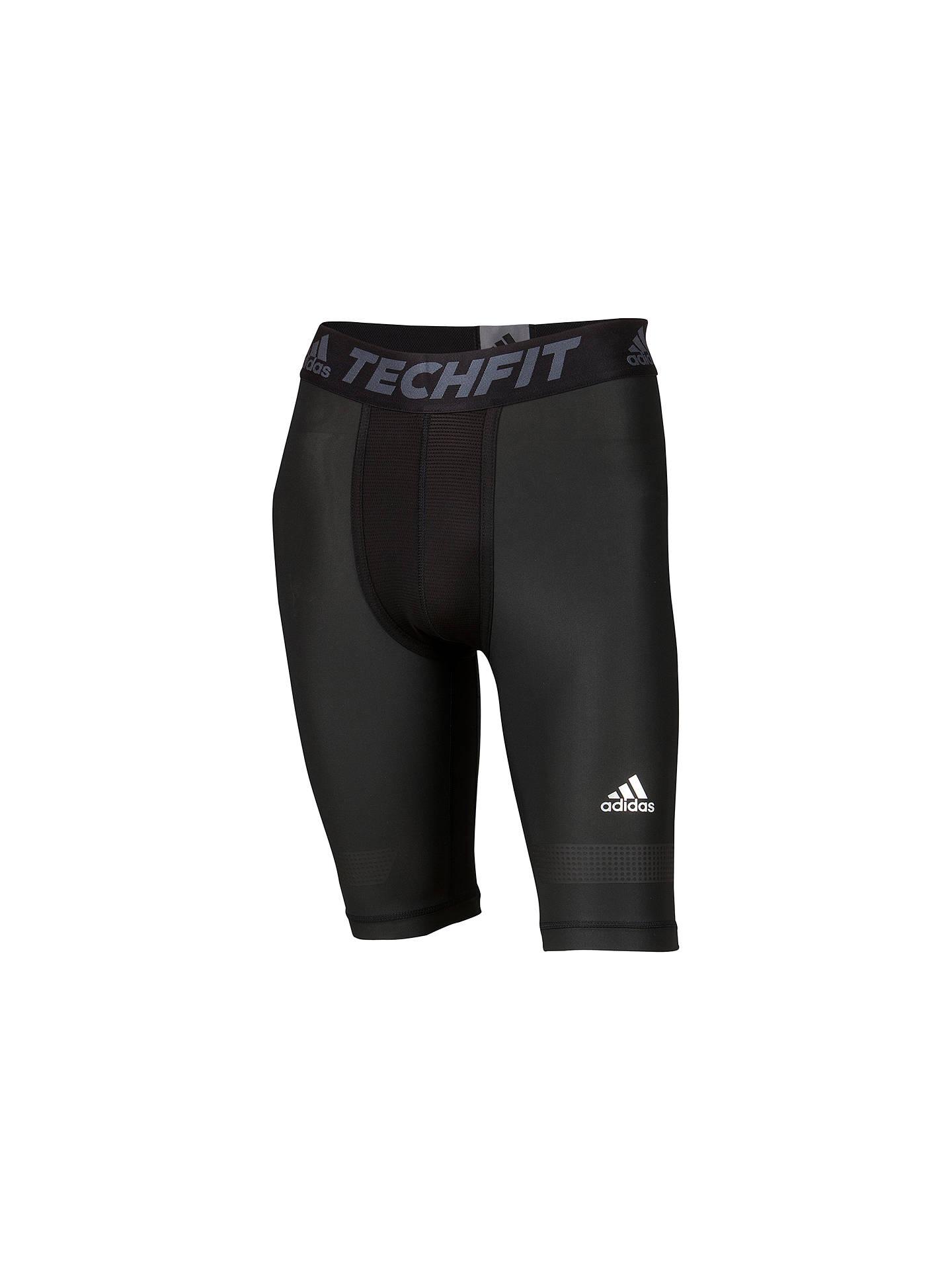 Men Adidas Mens Techfit Chill Short 7/9 Pants