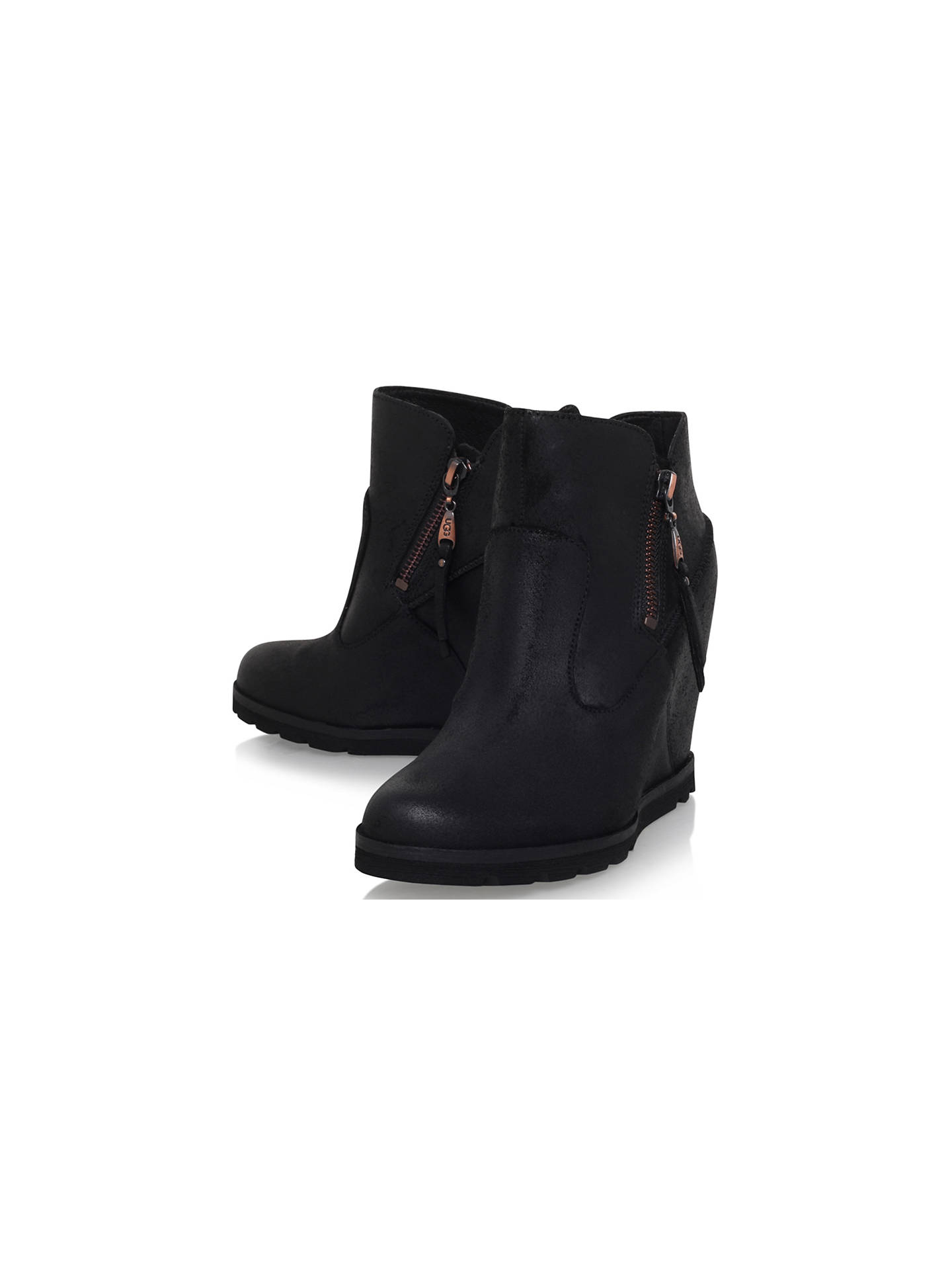 ff1a37c759a UGG Myrna Wedge Heeled Ankle Boots at John Lewis & Partners