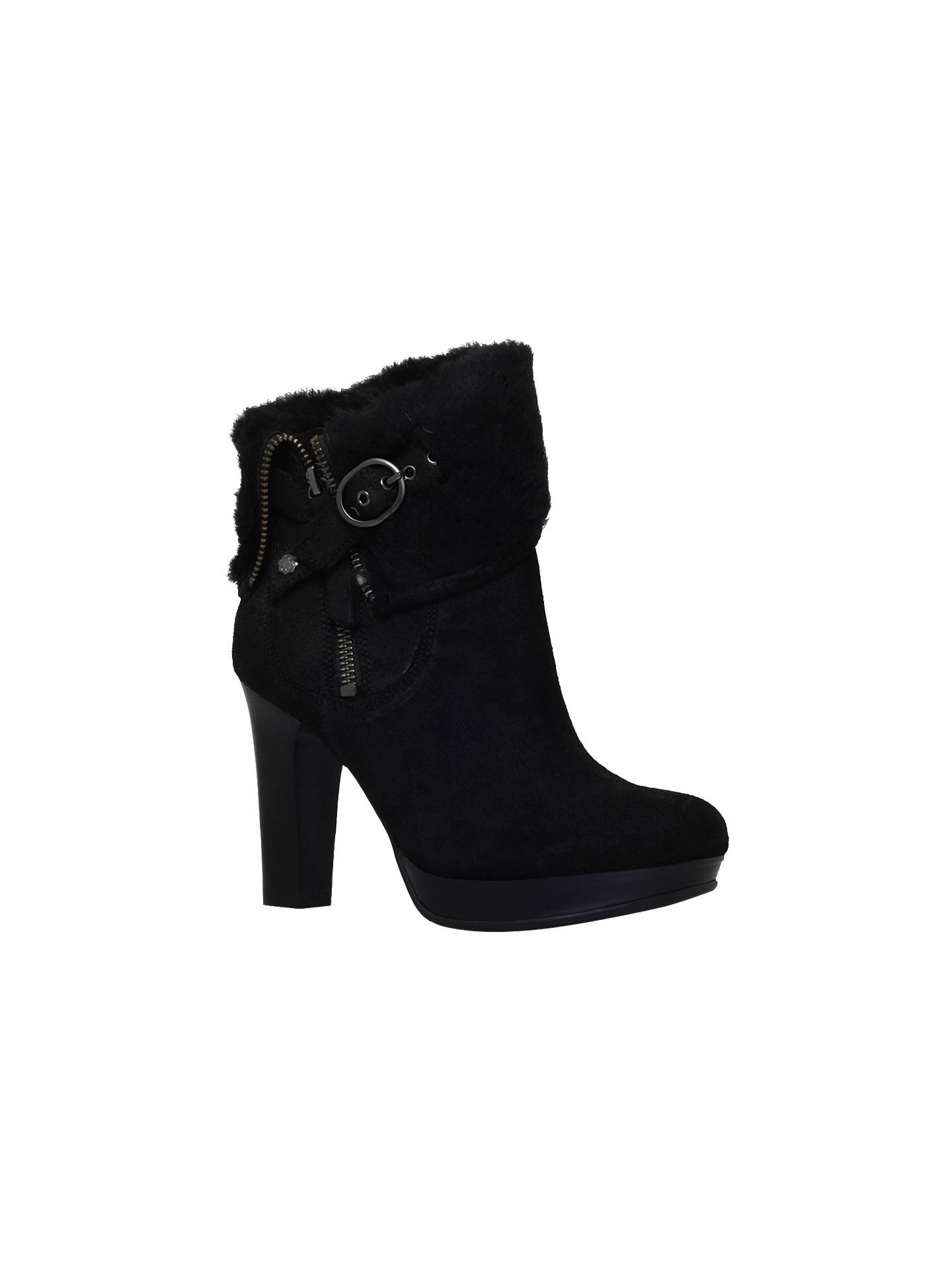407c8b6bd83 UGG Scarlett High Block Heeled Ankle Boots at John Lewis & Partners