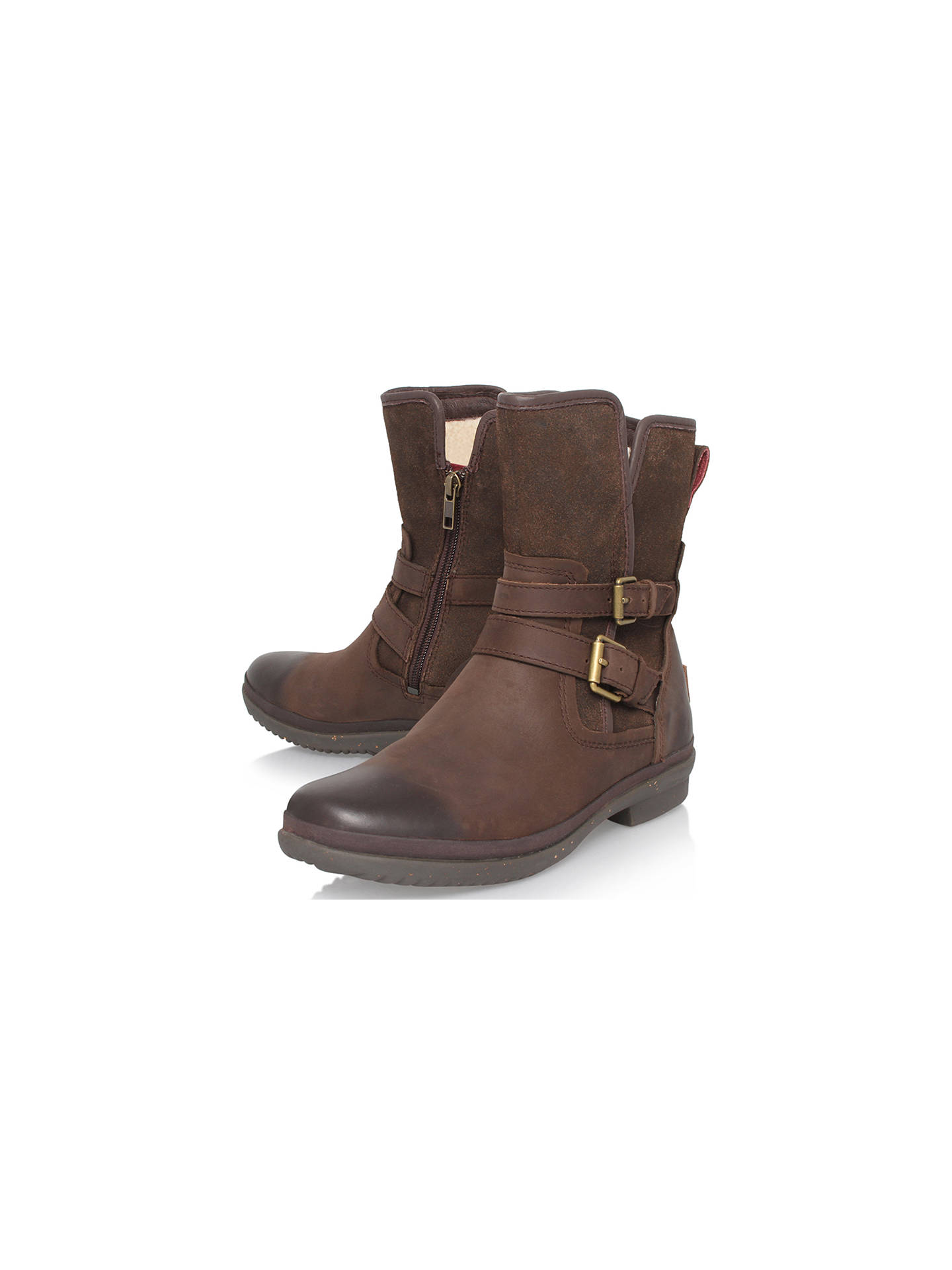 56033fd5b36 UGG Simmens Waterproof Ankle Boots at John Lewis & Partners