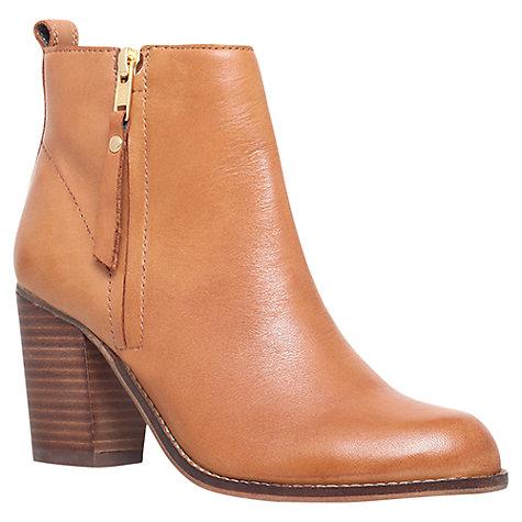 Buy Carvela Tanga Block Heeled Ankle Boots, Tan | John Lewis