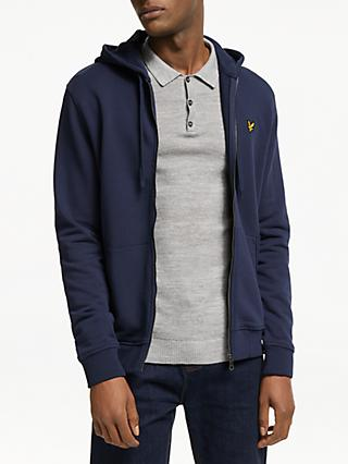 Lyle & Scott Full Zip Hoodie, Navy