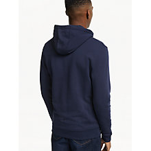 Buy Lyle & Scott Full Zip Hoodie, Navy Online at johnlewis.com