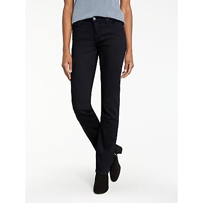 Lee Marion Regular Straight Leg Jeans, Black Rinse