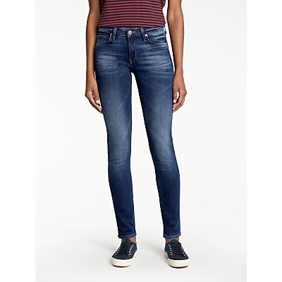 Lee Scarlett Regular Waist Skinny Jeans, Night Sky
